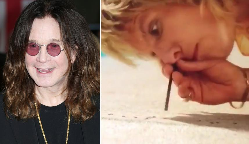 Ozzy Osbourne not recalling snorting ants with Motley Crue The Dirt.