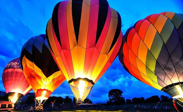 Preakness balloon festival 2019 hot air balloons