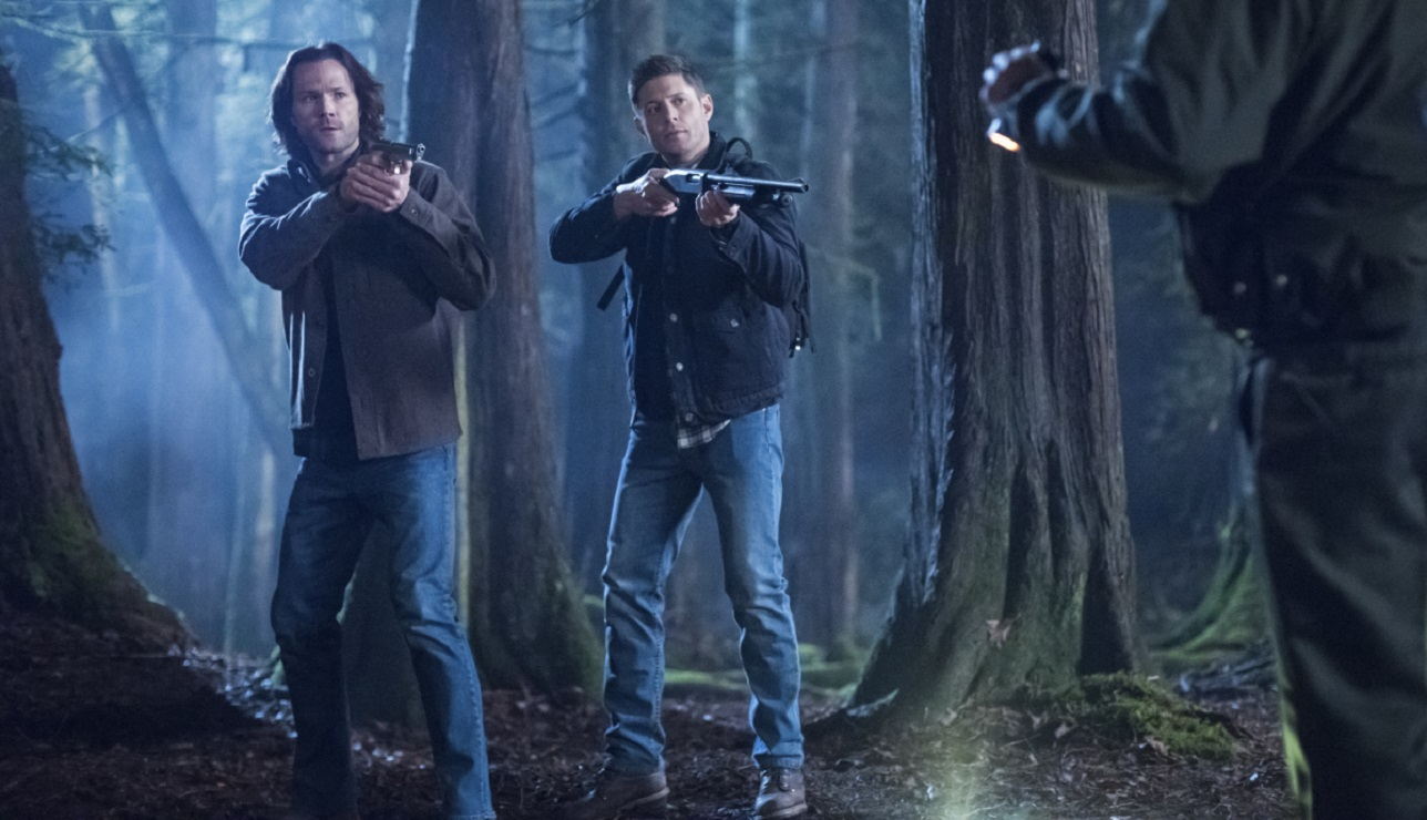supernatural 14.16 dont go in the woods 2019 images