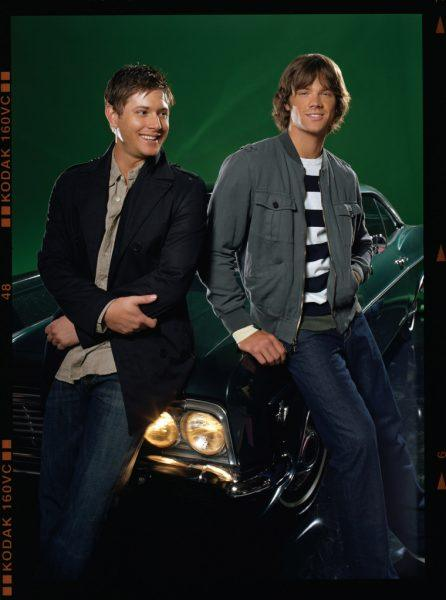 Supernatural first promotion with Jensen Ackles and Jared Padalecki.