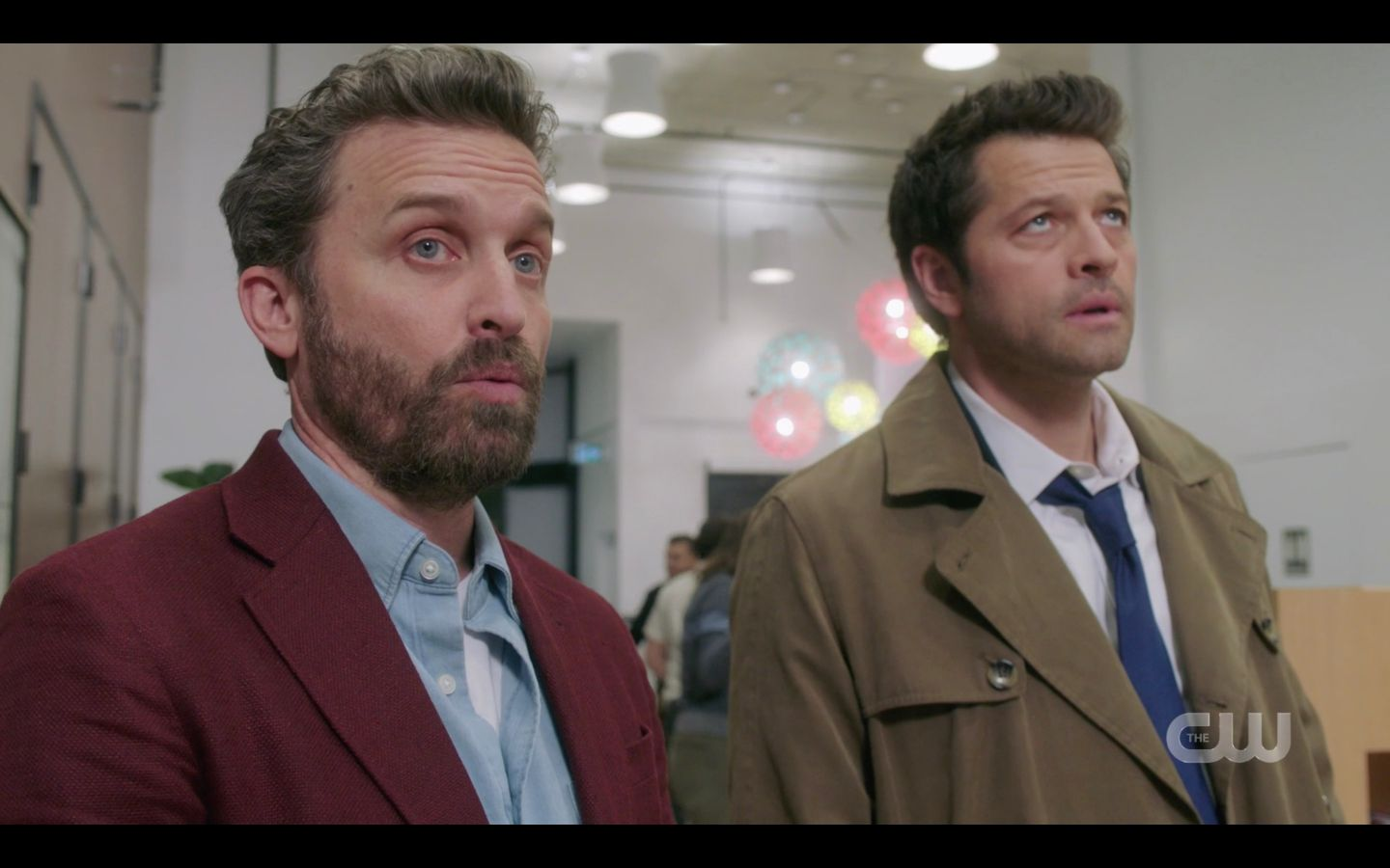 Cas with Chuck in Mirror Universe SPN 14.20