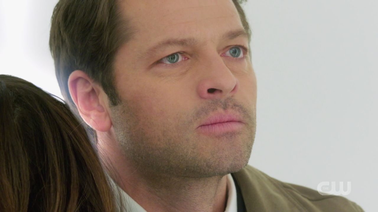 Castiel frustrated with Dumah SPN 14.19