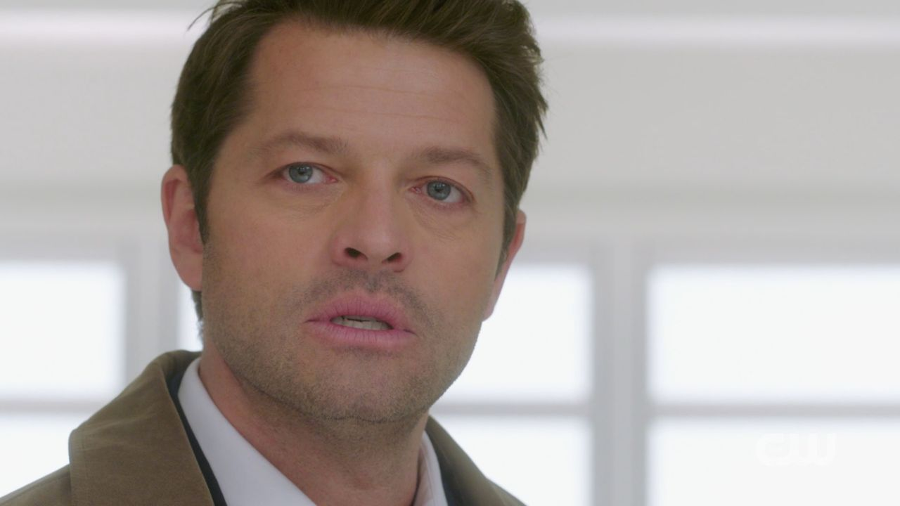 Castiel in heaven to to find Naomi and save Jack SPN 14.19