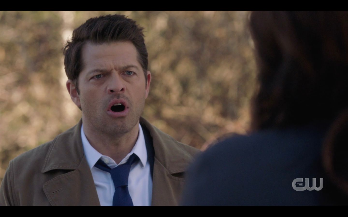 Castiel talking to Duma about Mary dying SPN 14.18