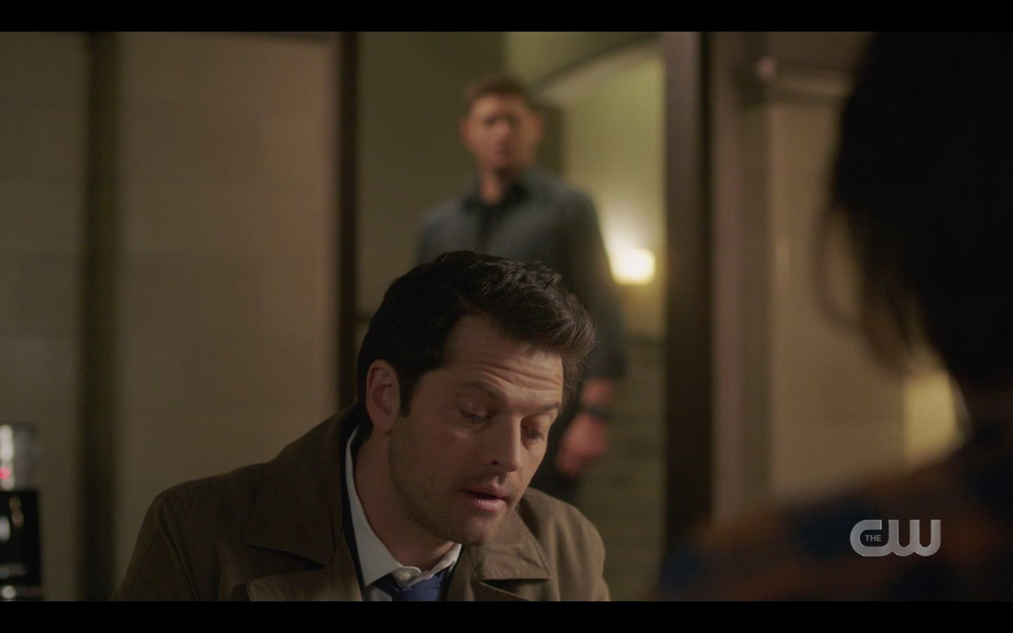 Castiel tells Sam Winchester Duma let him see Mary was dead SPN Absence