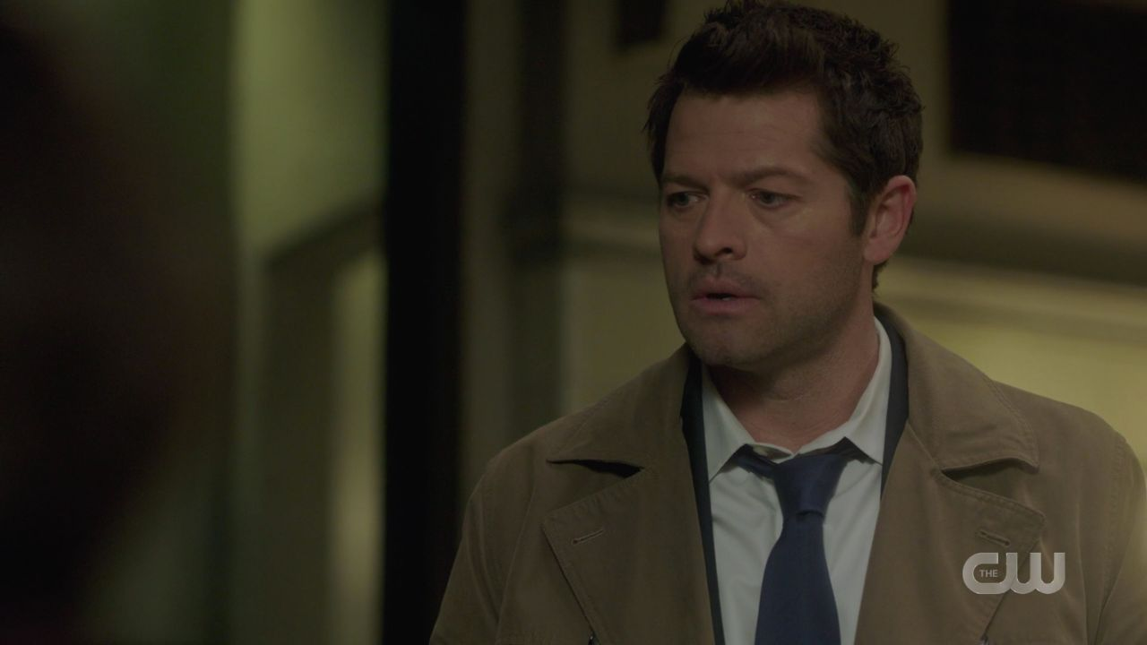 Castiel to Dean Winchester Sealed in a living death about Jack 14.19