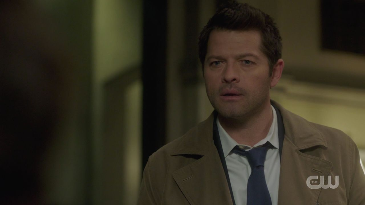 Castiel upset that Jack is in Malak box Supernaturlal 14.19