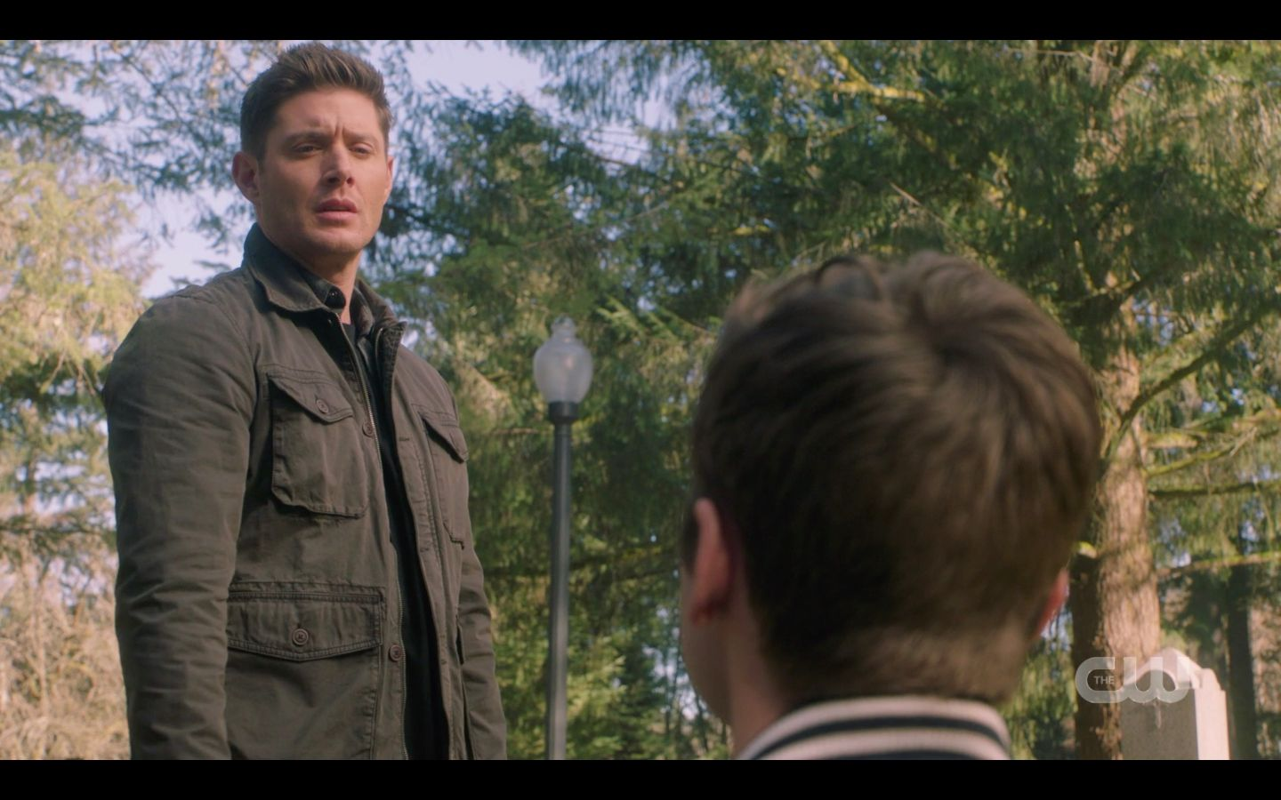 Dean Winchester chooses not to shoot Jack on knees SPN 14.20