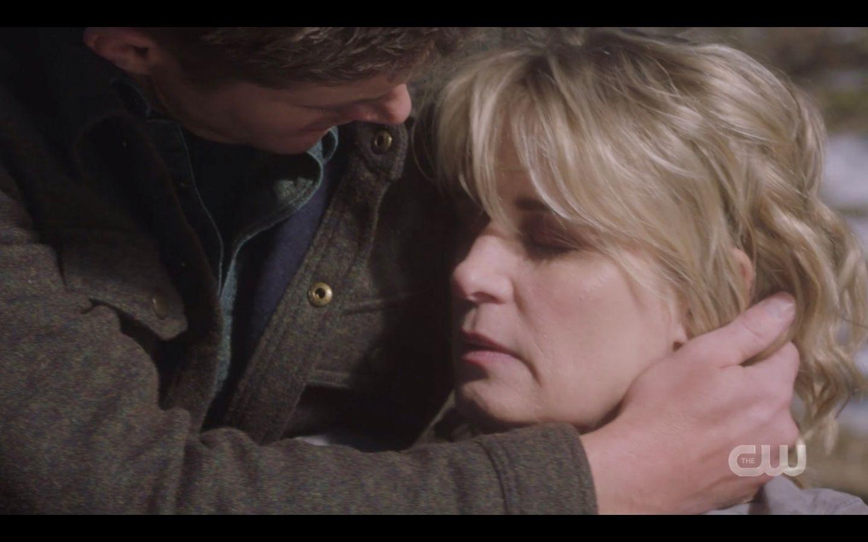 Dean Winchester cradling Marys dead head SPN Absence