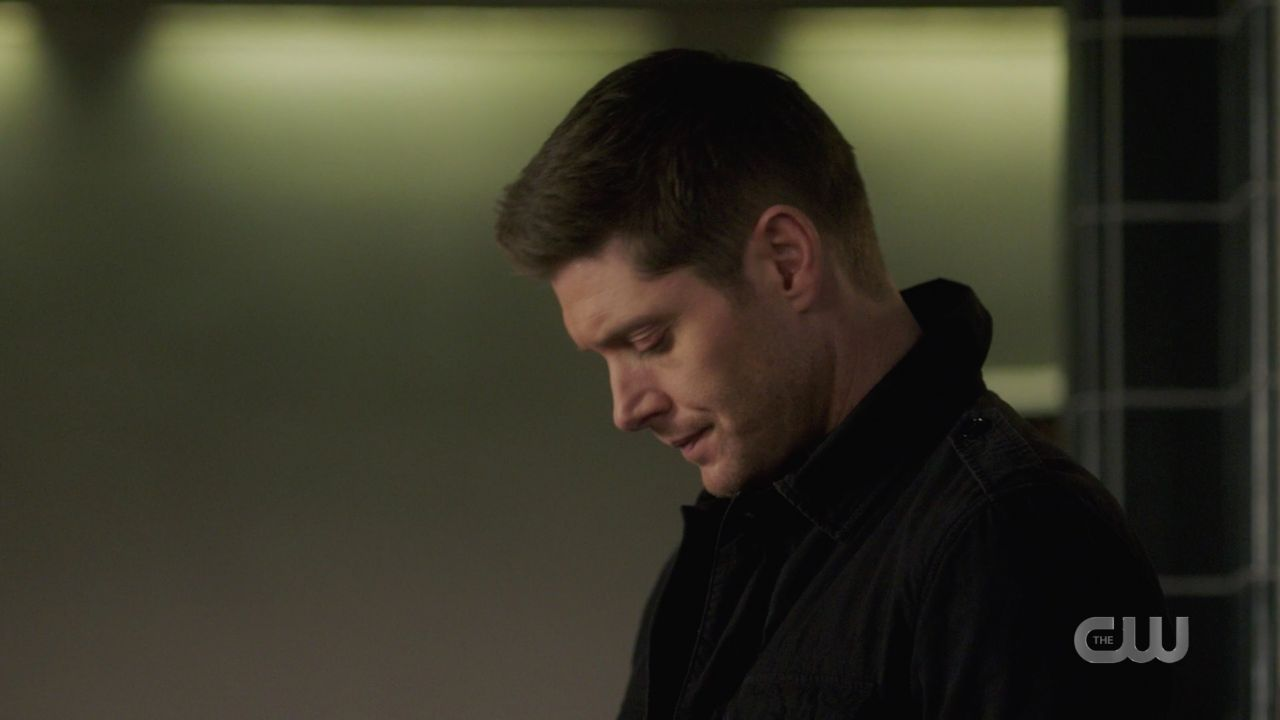 Dean Winchester deals with grief over Marys death SPN Jack in the box