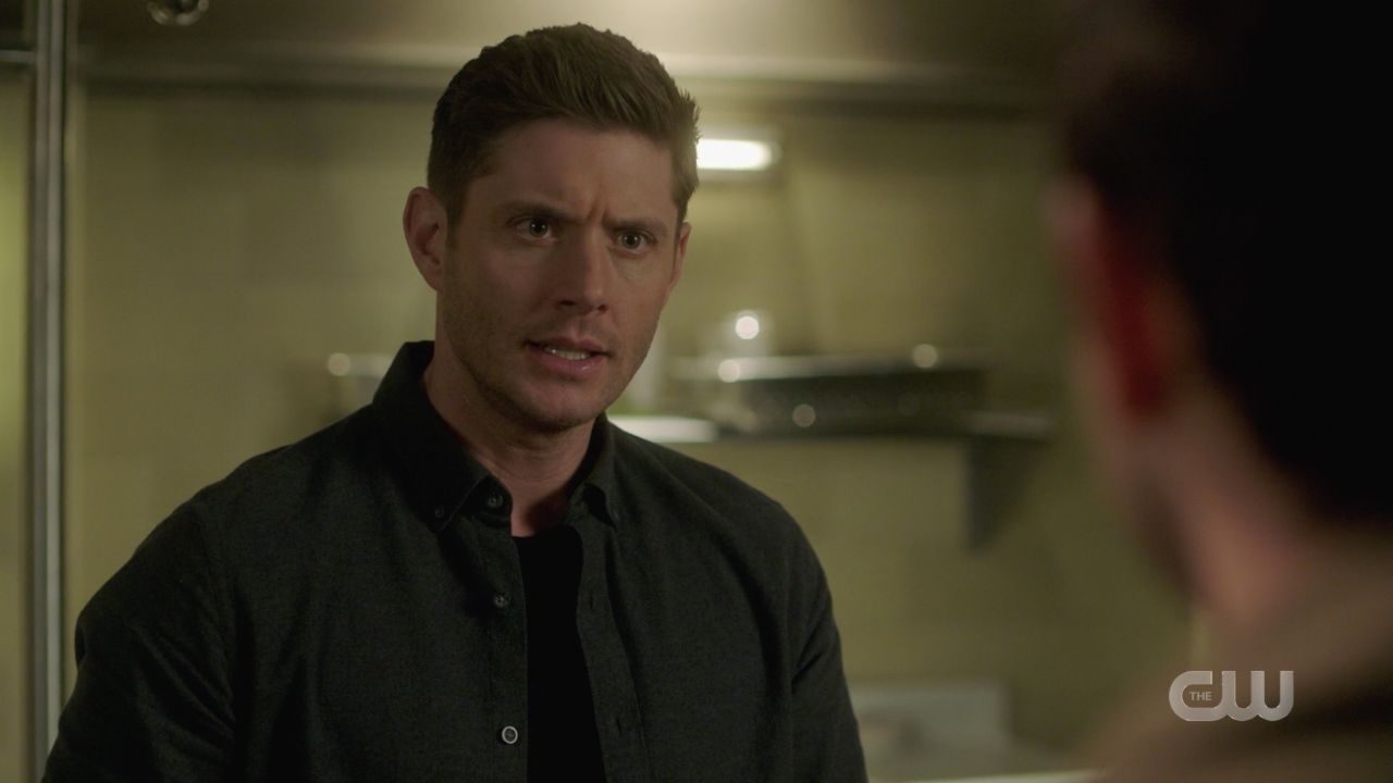 Dean Winchester explaining why Jack was put in malak box 14.19