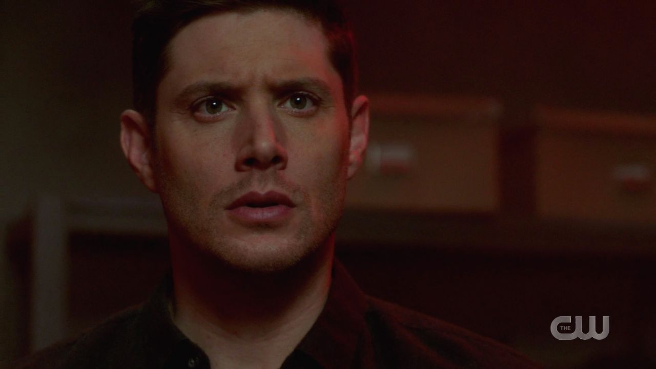 Dean Winchester freaks seeing Jack explode malak box with demon eyes SPN 14.19