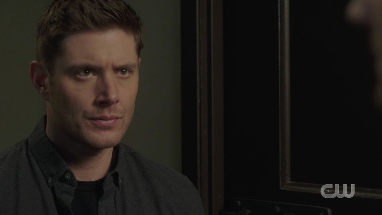 Dean Winchester hears jack calling from malak box SPN 14.19