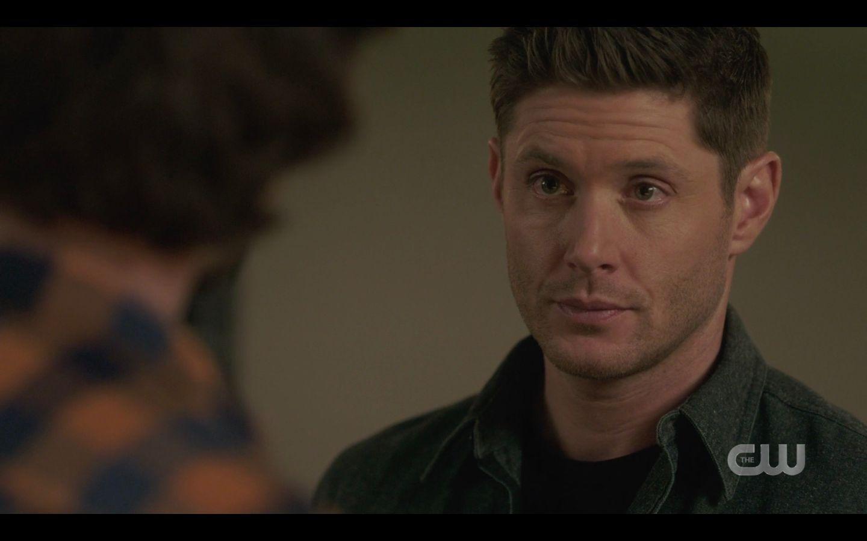 Dean Winchester holding Sam back from Nick SPN 14.17