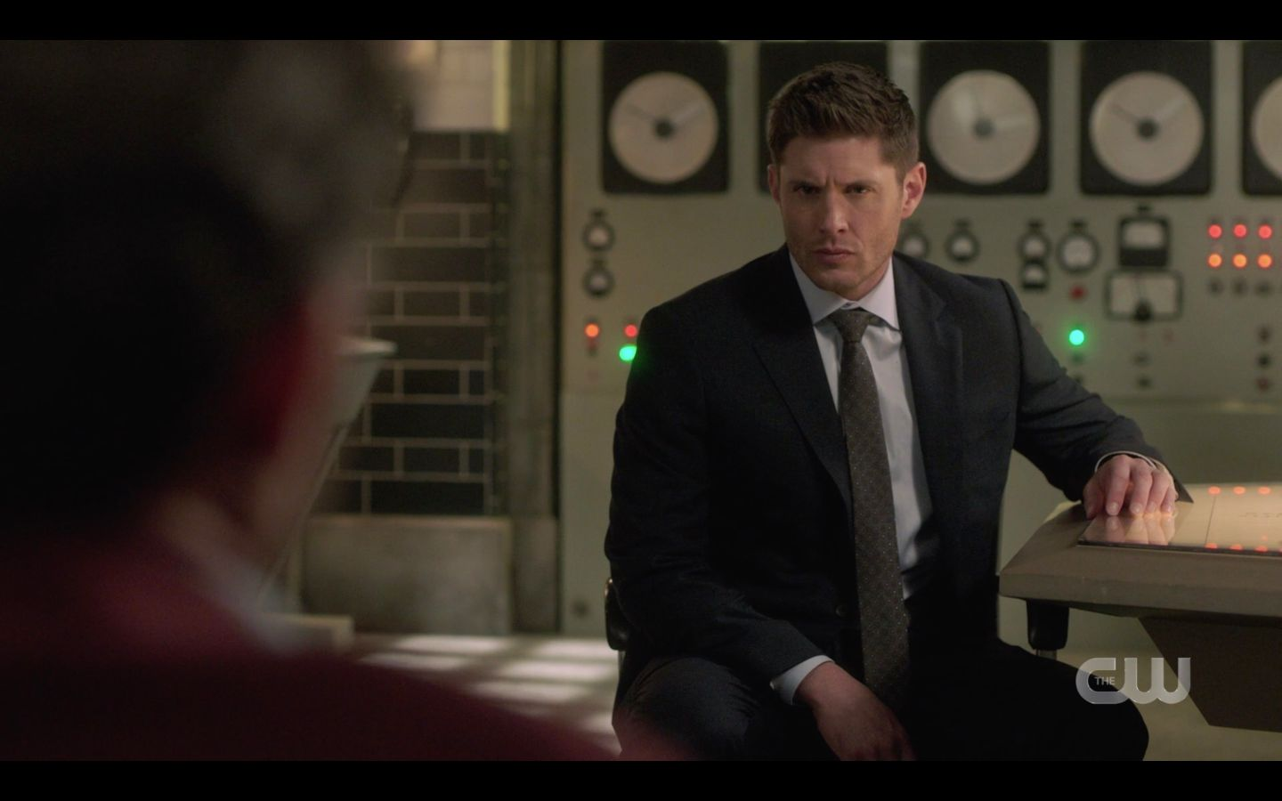 Dean Winchester reacting to Chuck on Jack death SPN 14.20