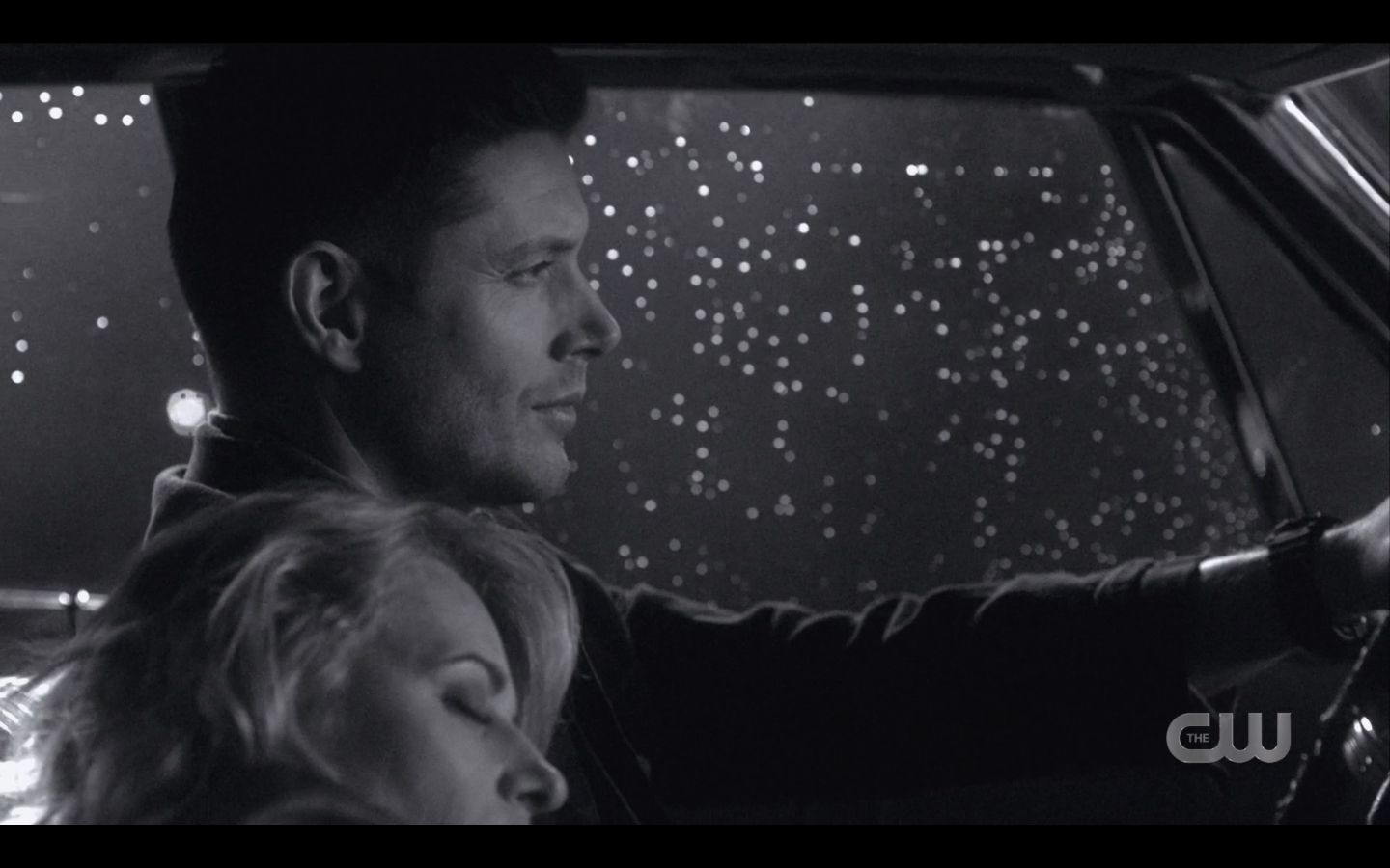 Dean Winchester smile flashback with Mary in Impala SPN