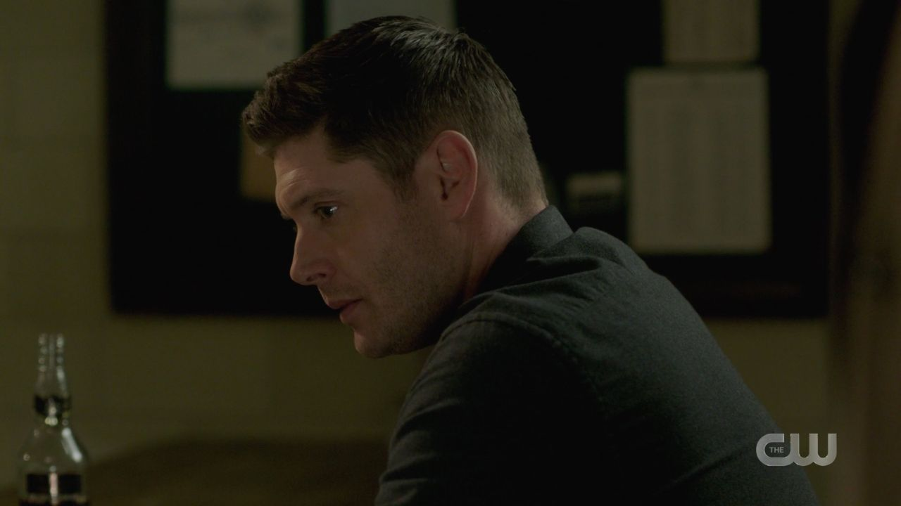 Dean Winchester to Cas hes in the malak box SPN 14.19