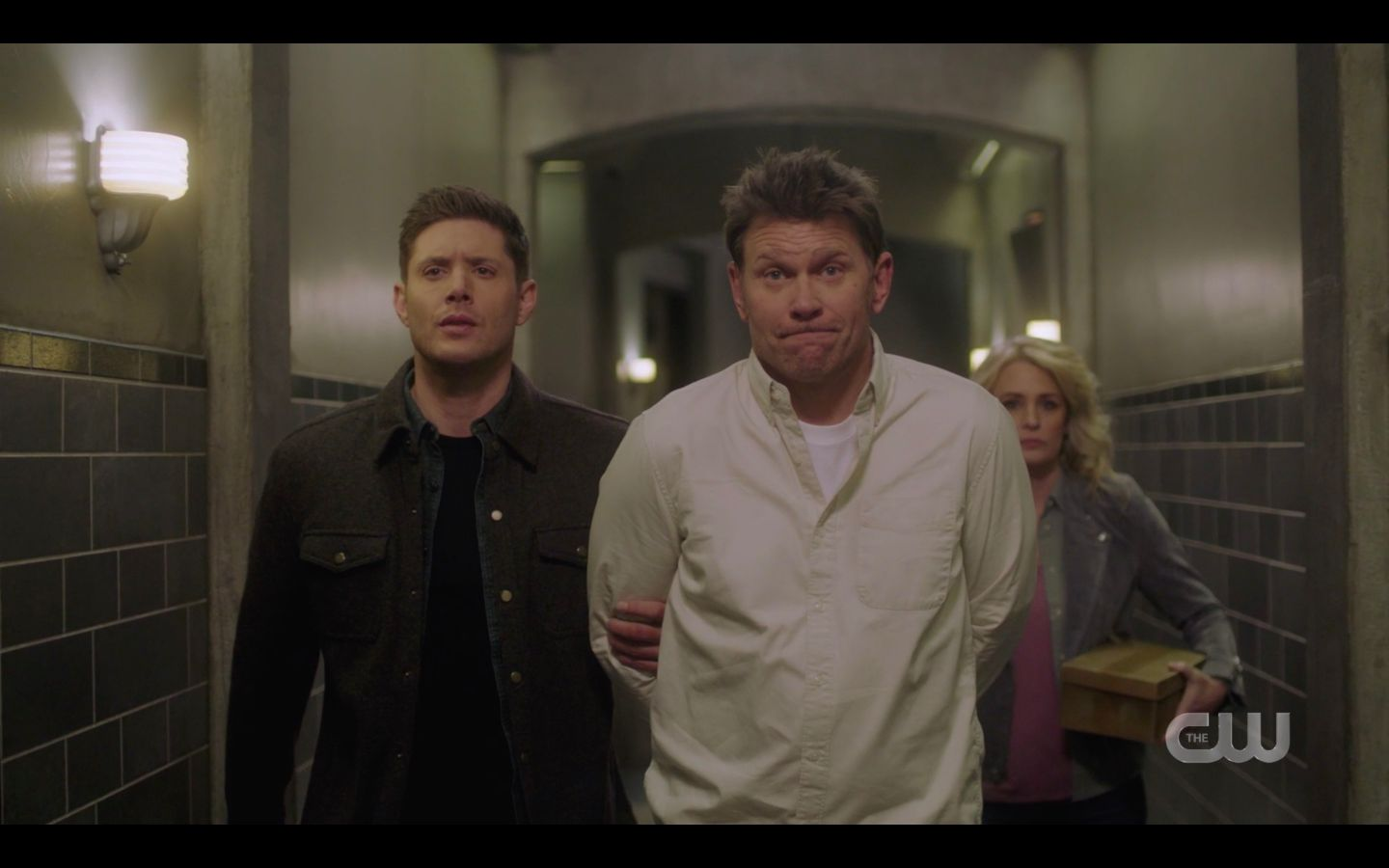 Dean Winchester with Nick Mary heading to Sam SPN Game Night