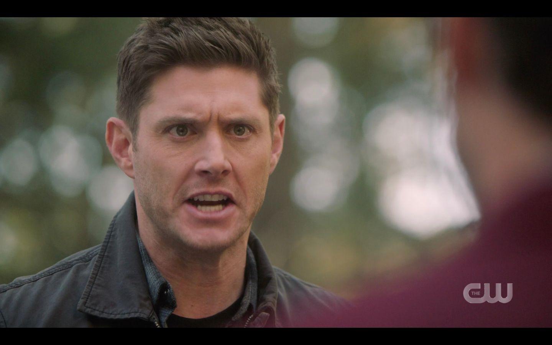 Dean Winchester yells at Chuck SPN 14.20