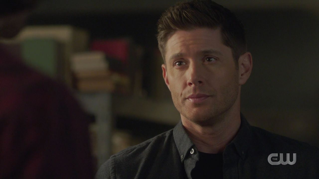 Dean tells Sam Winchester they have to put Jack in malak box SPN 14.19