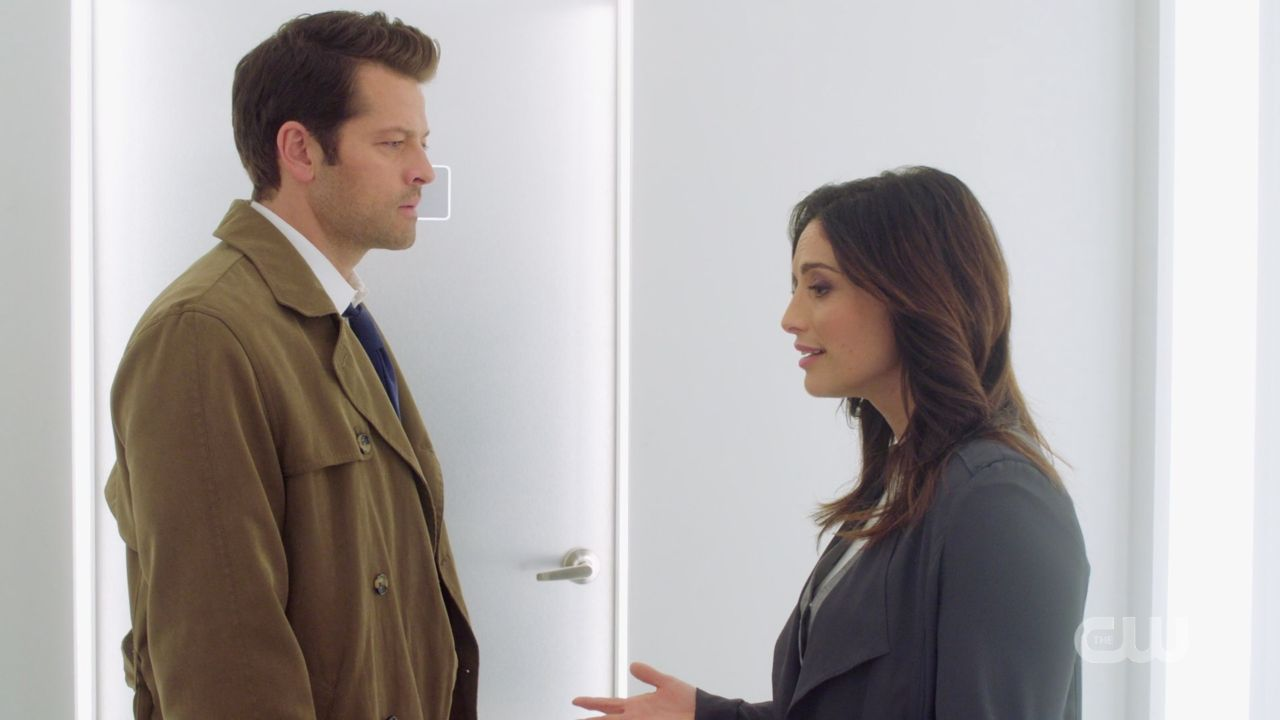 Dumah to Castiel Im saving the world Im saving heaven 14.19