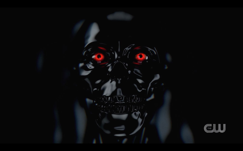 Lucifer  pops out of black good for Jack Supernatural 14.17