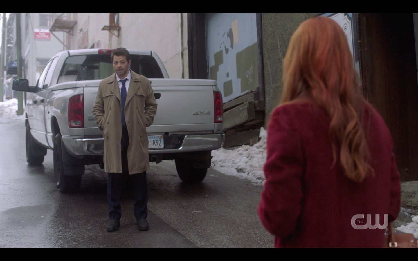 SPN Castiel Misha Collins says goodbye to Anael game night