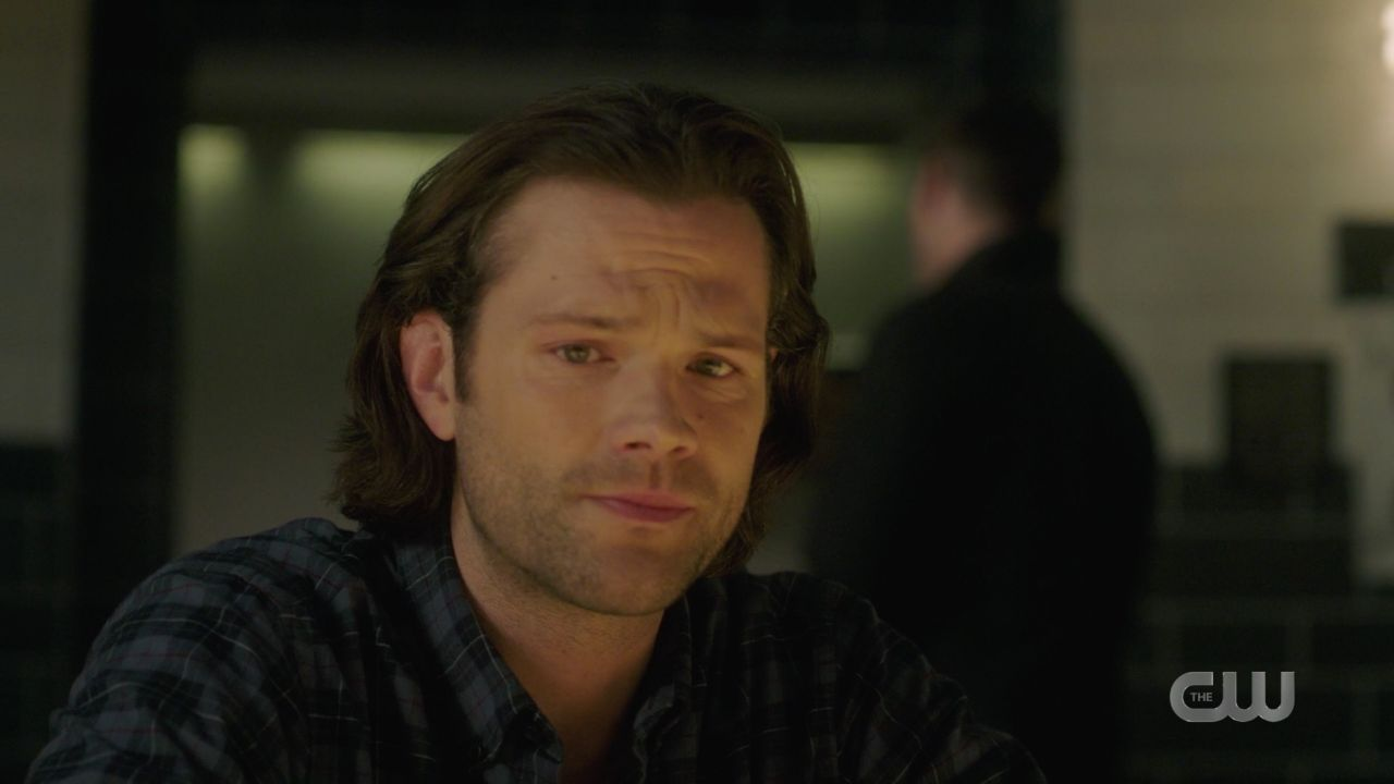 Sam Winchester distraught over Mary Supernatural Jack In the box