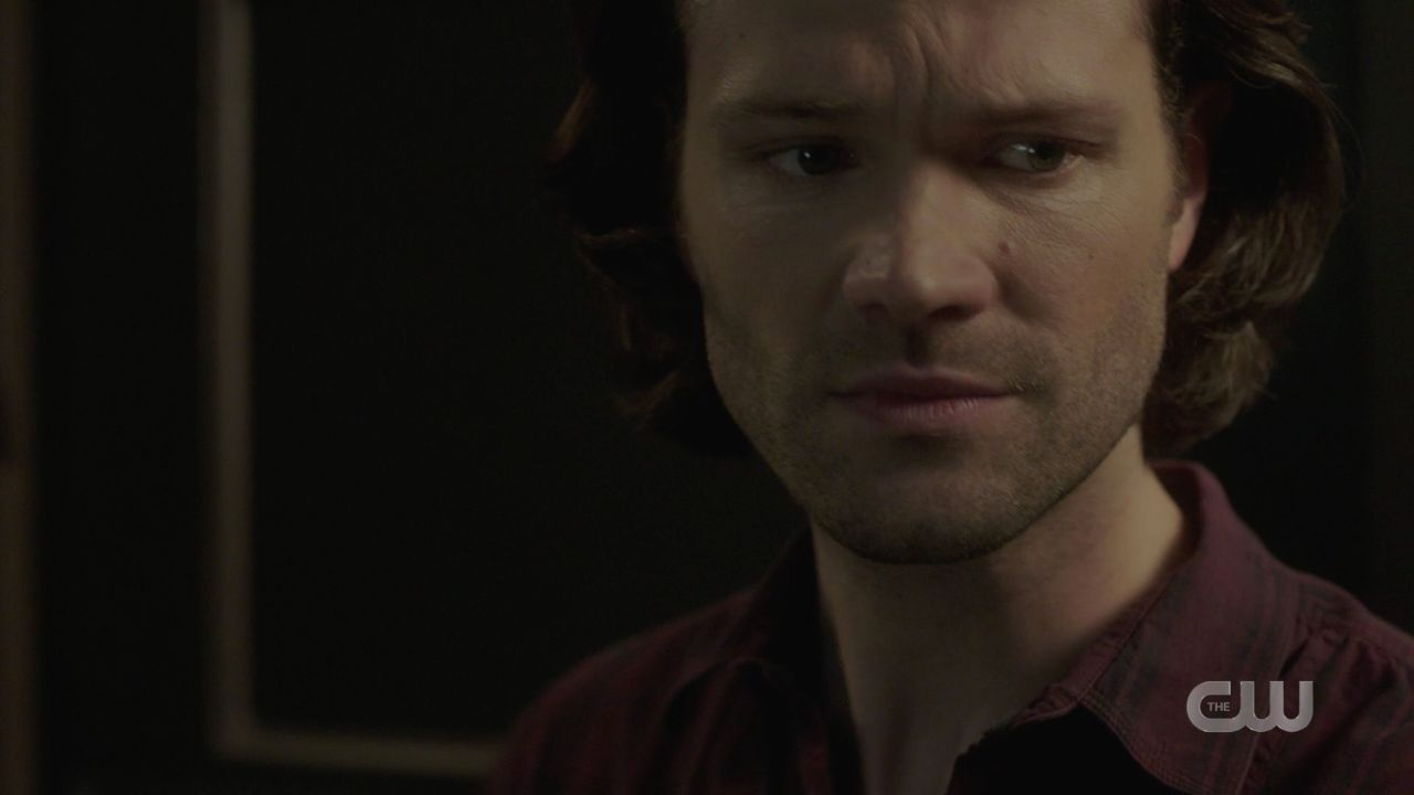 Sam Winchester reacts hearing Jack in malak box screaming 14.19 SPN