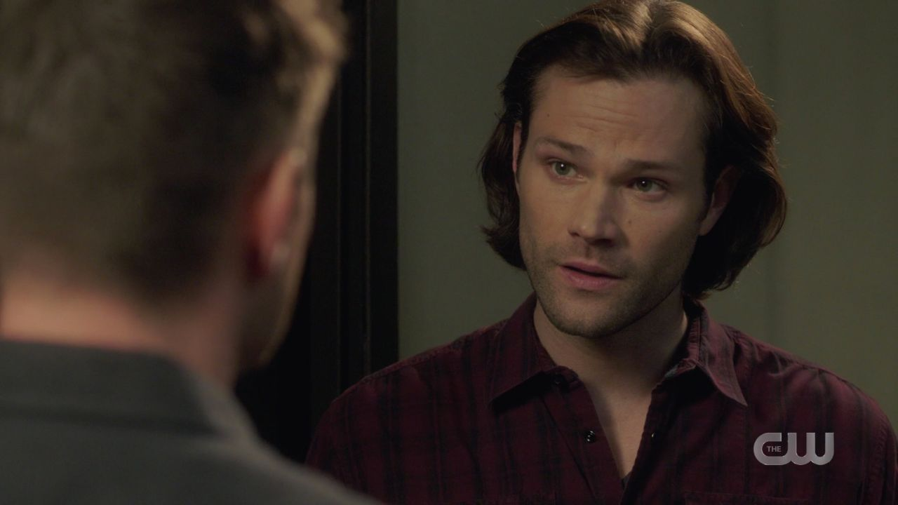 Sam Winchester realizes Dean is putting Jack in malak box SPN 14.19