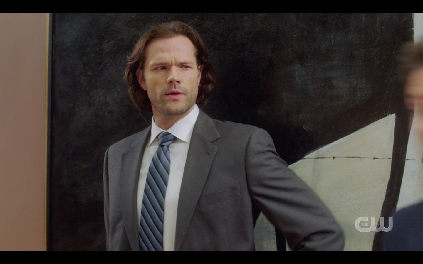Sam Winchester saying Celine Dion instead of Elvis SPN 14.20 Maliah