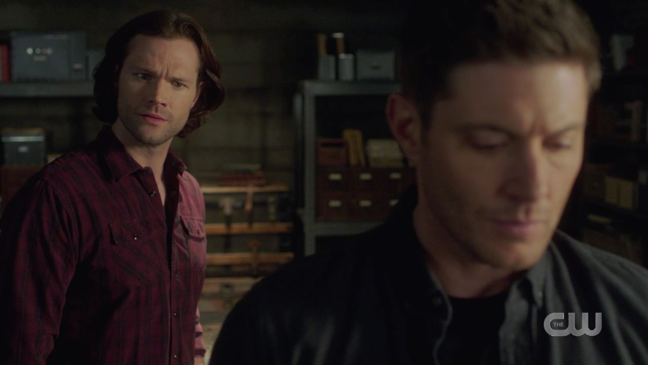 Sam Winchester tries talking Dean from putting Jack in the malak box 14.19