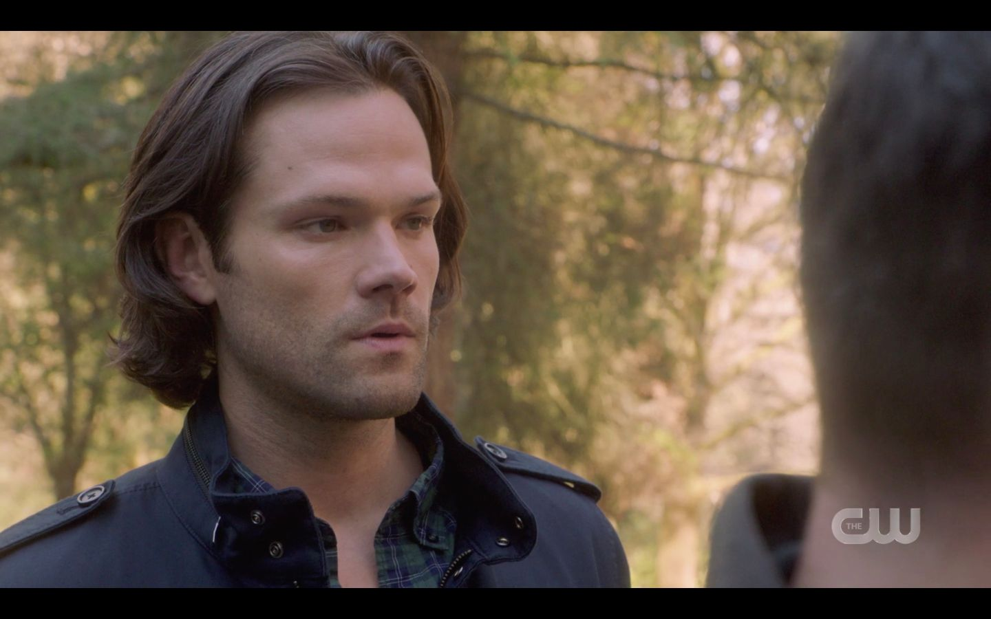 Sam Winchester watching Dean consider killing Jack for Mary SPN 14.20