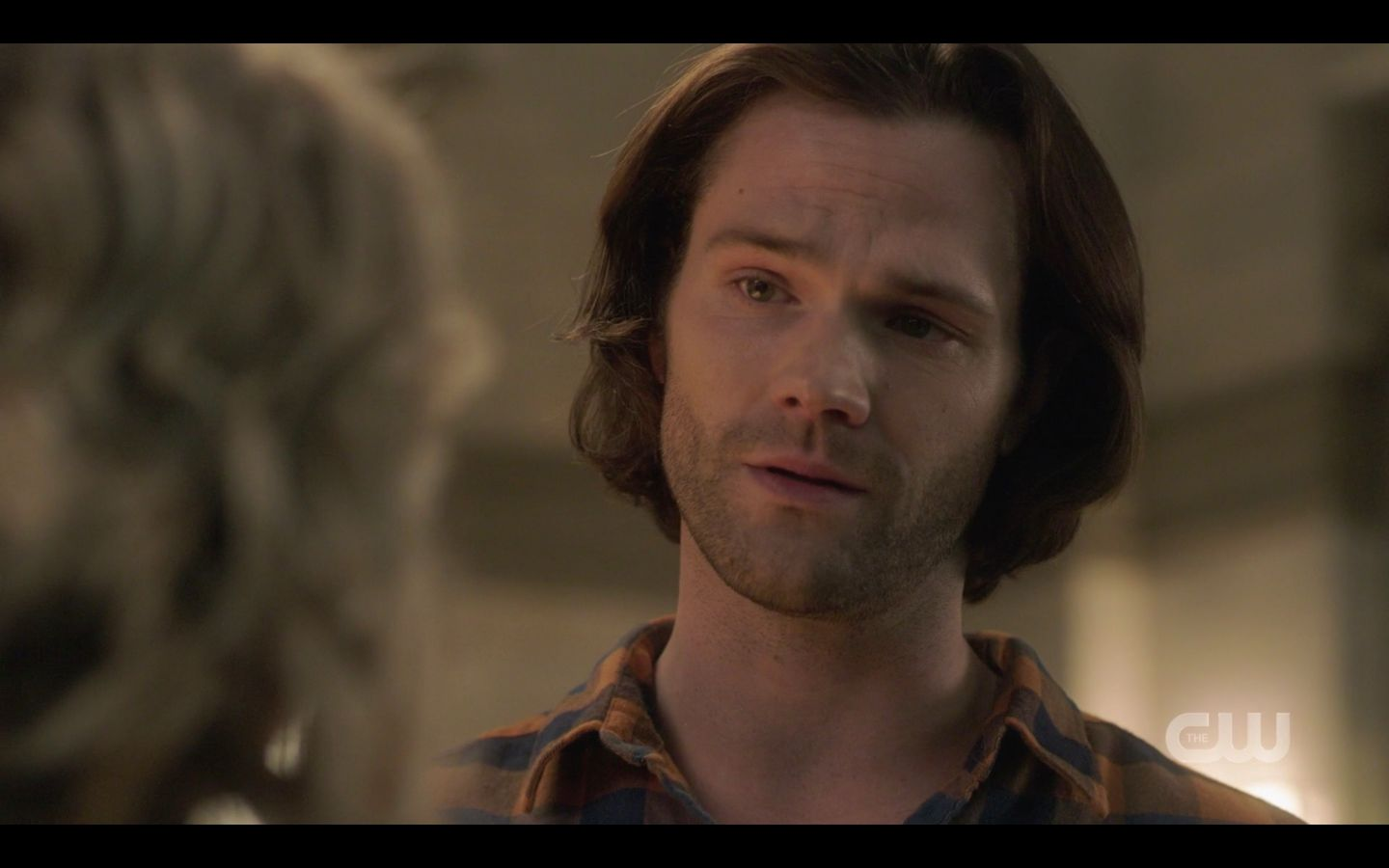 Sam Winchester with Mary not believing her praise SPN Game Night