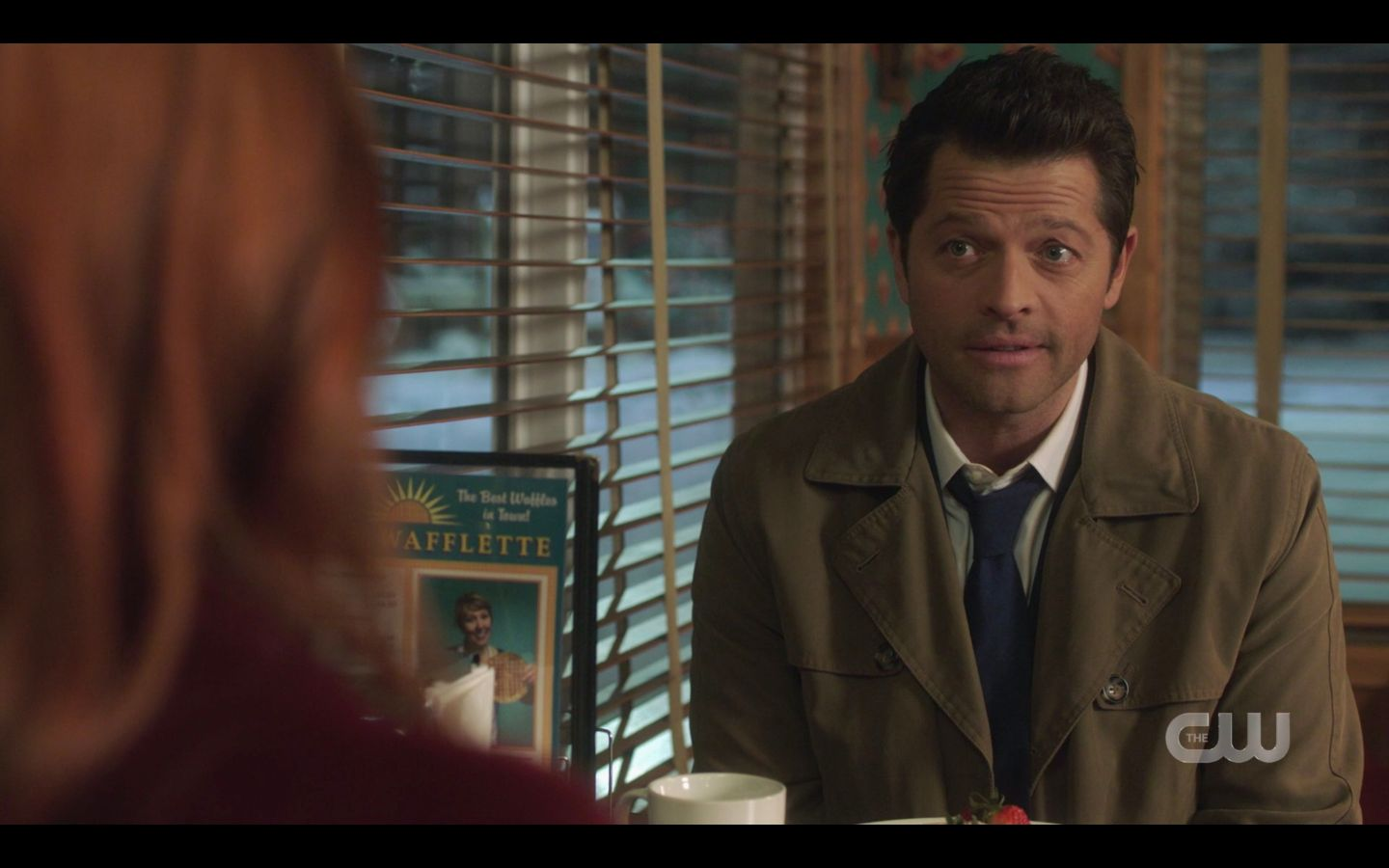 Supernatural Castiel with Anael I need your hel to contact God 14.17