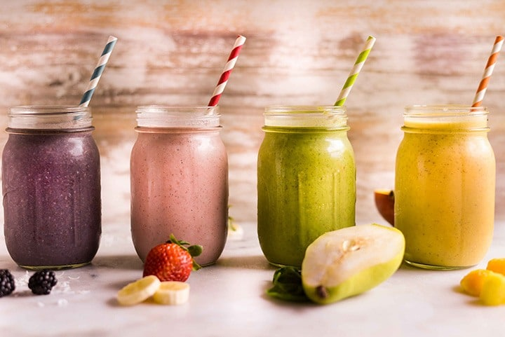 amazing fruit protein smoothie healthy breakfast
