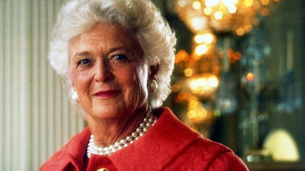 Barbara Bush on Donald Trump a name of greed mean and ugly.