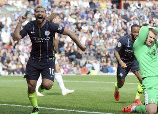 manchester city sergio aguero happy technology beats burnley premier league 2019