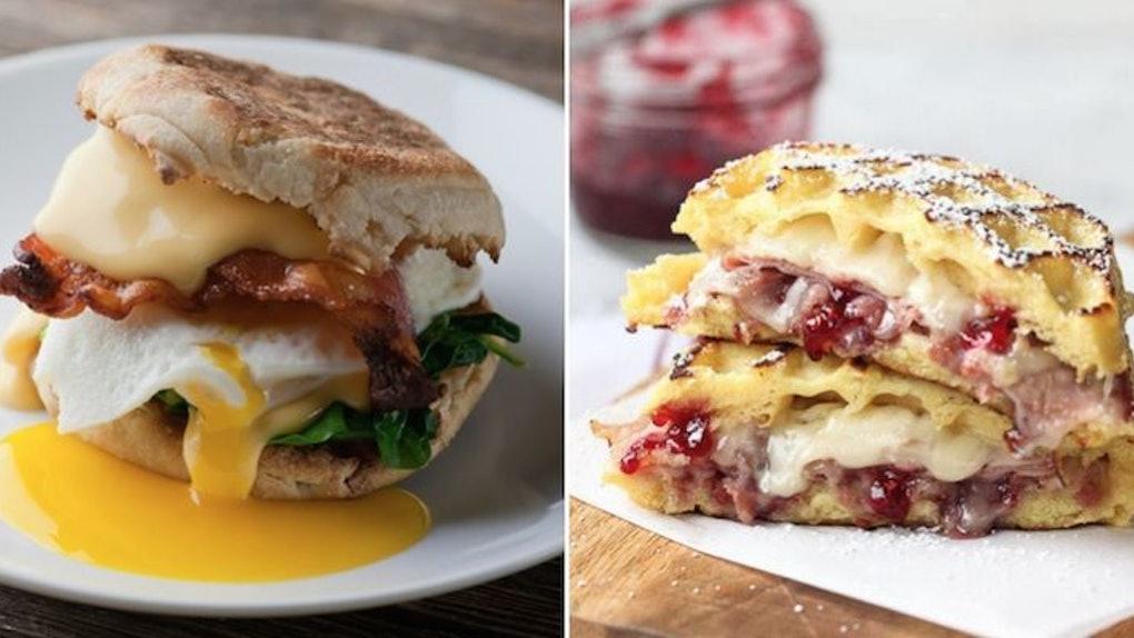 mouth watering breakfast sandwich healhy vegan