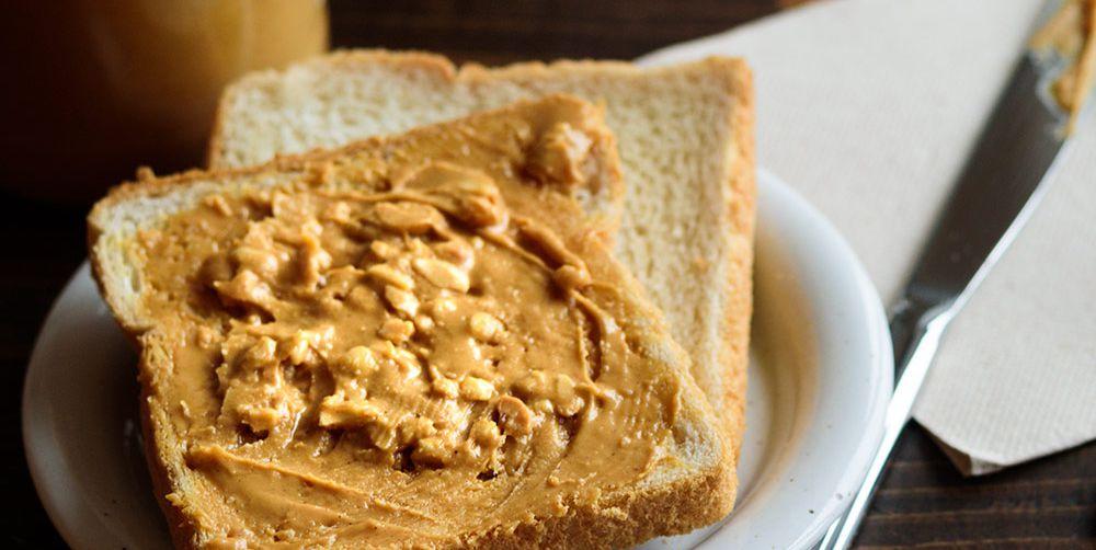 nut butter whole grain toast healthy breakfast