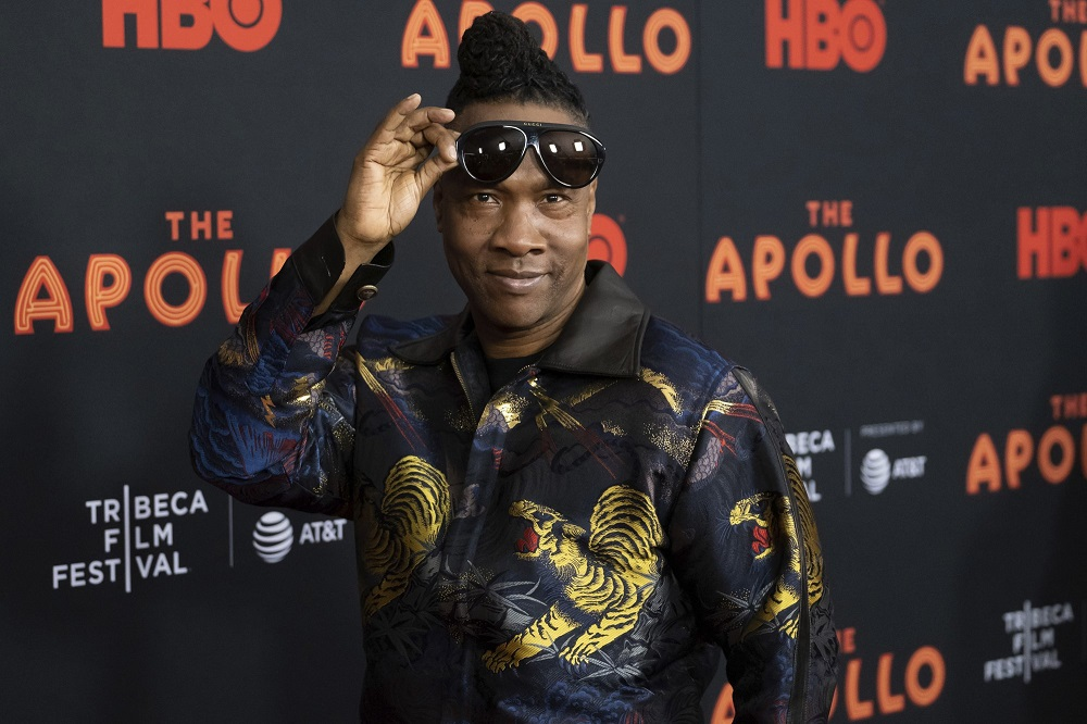 roger ross williams at 2019 tribeca film festival for the apollo.