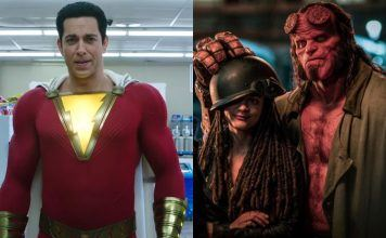 shazam top box office again while hellboy fizzles without del Toro 2019 images