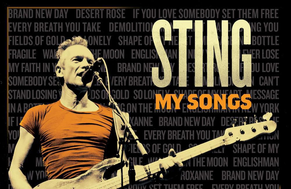 Sting My Songs album cover hits May 2019.