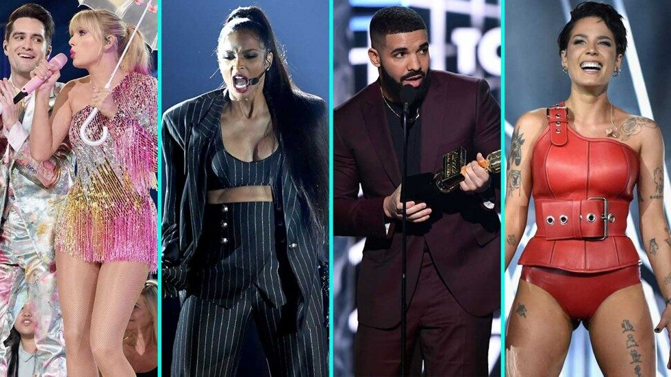 2019 billboard music awards drake taylor swift halsey acts