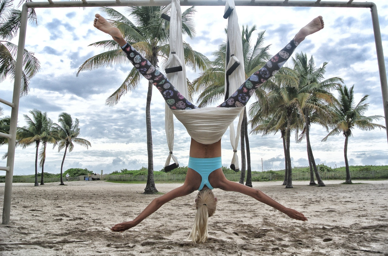 Aerial Yoga 2019 hottest fitness trends products