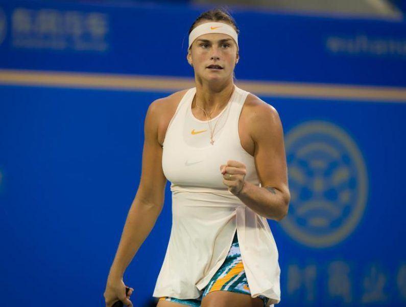 Aryna Sabalenka beats monica puig strasbourg