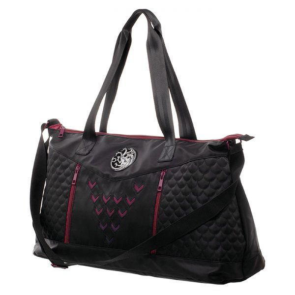 Game of Thrones House Targaryen duffle bag hottest mothers day gift ideas 2019.