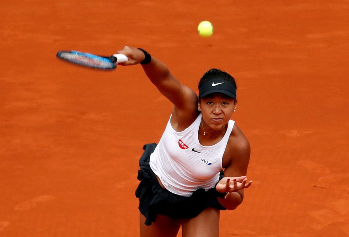 NAOMI OSAKA top ranked woman tennis 2019 french open