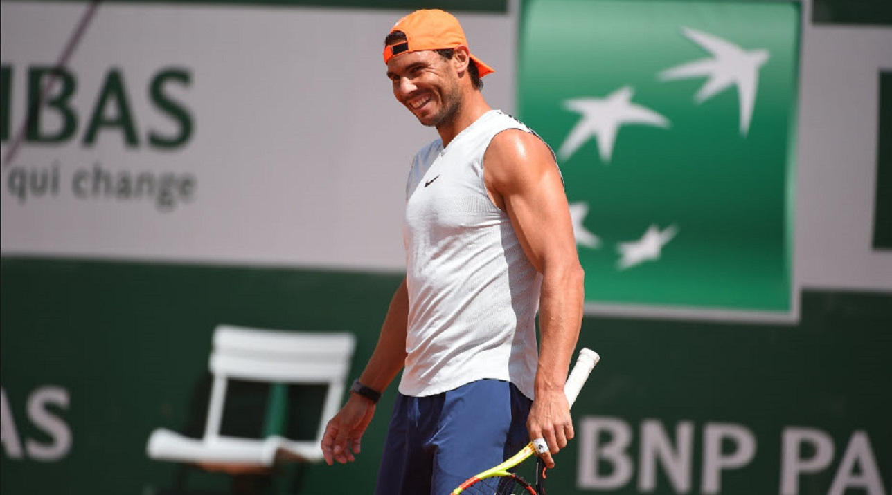 Rafael nadal takes another step forward with Djokovic thiem french open 2019