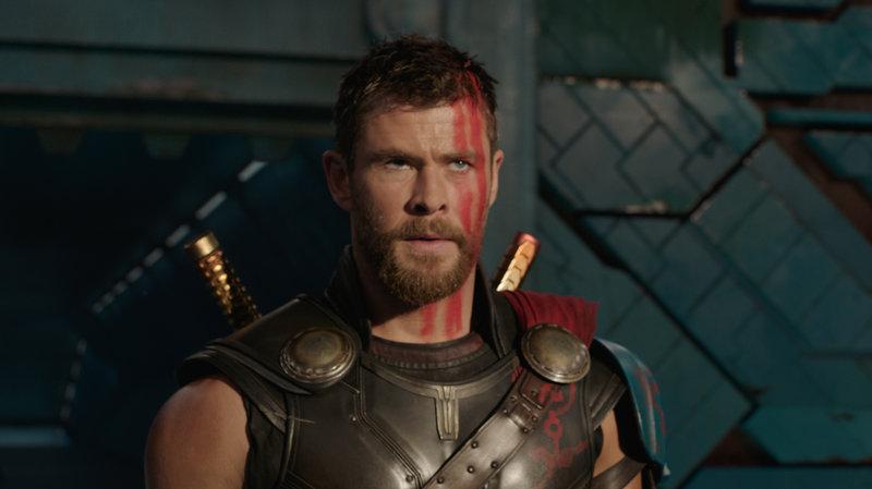 Thor Ragnarok humor for chris hemsworth 2019